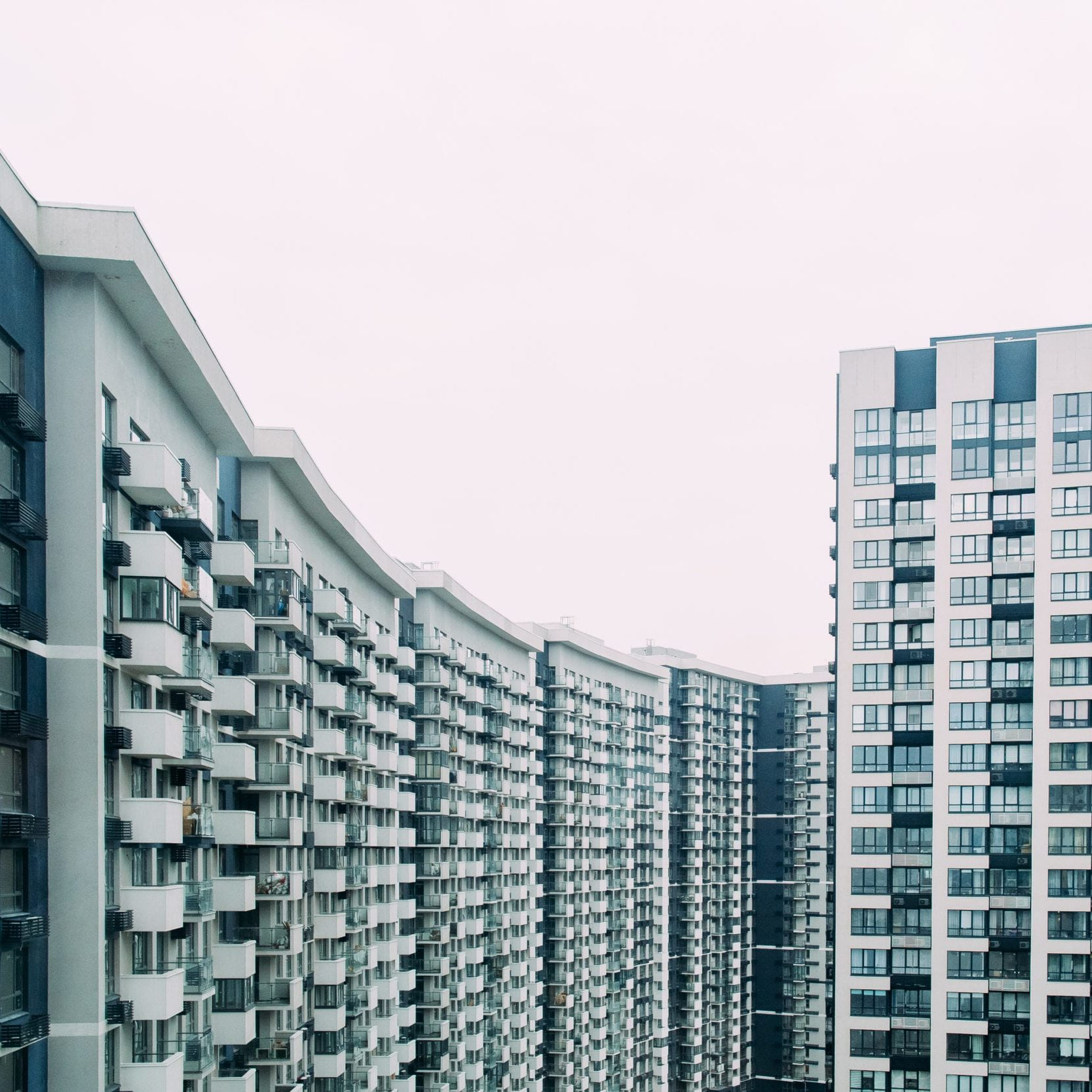 building balcony design outside concrete urban modern floor elevator floor elevator